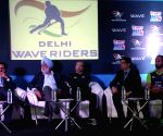 Delhi Waveriders' press conference