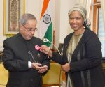 Executive Director of UN Women calls on President Mukherjee