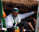 Centre will listen to farmers: Tikait on Bharat Bandh (Ld)