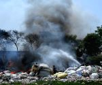 Fire razes 40 shanties in east Delhi