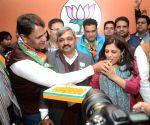 Vinod Kumar Binny joins BJP