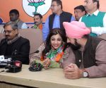 Shazia Ilmi joins BJP