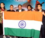 "Kapil Dev, Jubin Nautiyal at launch of  song ""One India My India"
