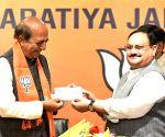 Dinesh Trivedi joins BJP