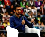 Cricket lovers Nadella, Pichai celebrate India's fairytale victory