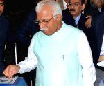 Haryana CM's metro journey