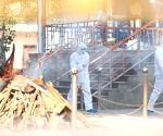 With Covid cases surging, victims being cremated at designated spots at Delhi's crematoriums