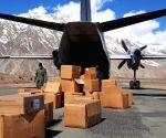 90 tonnes air cargo of medical kits, medicines sent to NE