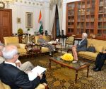 IMF MD calls on Pranab Mukherjee