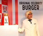 'Indian' Colonel Sanders unveils KFC's Zinger at Madame Tussauds
