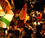 Youth Congress takes out torch rally in Delhi against farm Bills