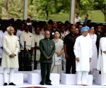 Rajiv Gandhi remembered on 75th birth anniversary