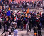 New delhi: Lal quila farmers protest