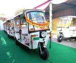 Free Photo: Launch of e-rickshaw facility from Jamia Millia Metro Station to boost connectivity.