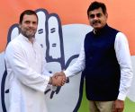 Telangana MP Reddy to join Congress after quitting TRS