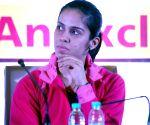 Junior Badminton Championship 2015 concluding ceremony - Saina Nehwal, Manish Sisodia