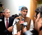 Kailash Satyarthi during a programme at German Embassy