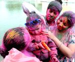 Holi cerebrations at Durgiana Temple