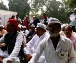 Anna Hazare's protest against NDA land ordinance