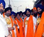 Nagar Kirtan on the eve of Guru Nanak Jayanti