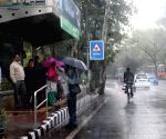 Winter rains in Delhi