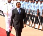 Tanzania President at Rashtrapati Bhavan