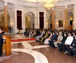 President Mukherjee meets Indian Railways Probationers