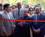 President Mukherjee inaugurates the Innovation Exhibition