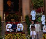 Modi makes suave style statement in pale grey