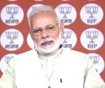 Congress concocting falsehoods in MP: Modi