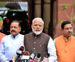 Modi, MP's take oath in 17th Lok Sabha
