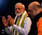 Modi to fight from Varanasi again, Shah Gandhinagar