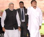BJP parliamentary party meeting - Modi, Naidu