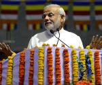 Narendra Modi at International Buddha Poornima Diwas Celebration 2015