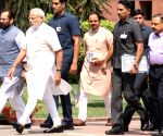 PM Modi at Parliament House