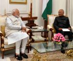 PM meets President, tenders resignation of Council of Ministers