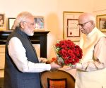 PM Modi meets Advani