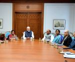 CCS meeting at Modi's residence