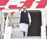 After BRICS summit, Modi leaves for home