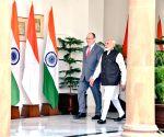 PM Modi meets Monaco's Prince Albert II