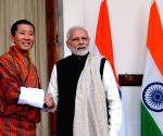 Bhutanese King and PM congratulate Modi