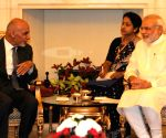 Modi-Ghani meeting at Hyderabad House