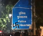 Swastika sign on police signage at Delhi PHQ raises eyebrows