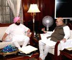 Amit Shah-Amarinder Singh meet on farmers' issue