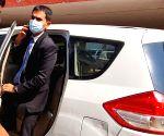 : New Delhi : NCB officer Sameer Wankhede arrives at NCB office in New Delhi