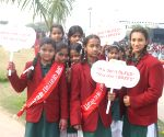 Students march for spreading awareness on menstrual hygiene
