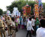 Muharram procession in Trilokpuri
