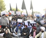 Shiromani Akali Dal's demonstration against 'MSG - The Messenger of God'