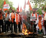 Shiv Sena demonstration against Nawaz Sharif, Lakhvi