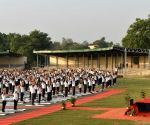 Thousands mark International Yoga Day in Delhi